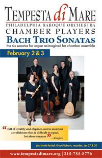 Bach Trio Sonatas postcard thumbnail